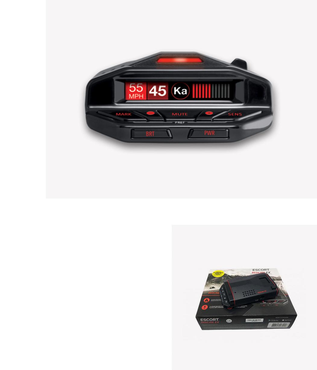 Escort Redline EX Euro/Intl  – Antiradar
